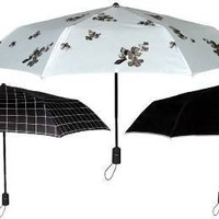 Compact Umbrella Auto Open / Auto Close with UV Protection by Leighton