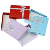 MJARTORIA Hot Sale 10PCs Necklace Ring Bracelet Box Packaging & Display Fashion Mixed Jewelry Boxes Jewellery Gift Boxes 9cmx7cm
