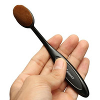 Oval Makeup Beauty Brush Cosmetic Foundation Cream Powder Blush Makeup Tool