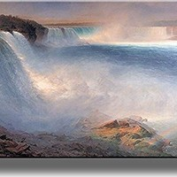 Niagara Falls Picture on Stretched Canvas, Wall Art Decor, Ready to Hang!