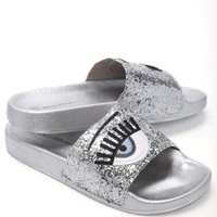 Eye Rule Slides - Silver