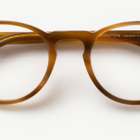 The Women's Brighton Glasses in Caramel Horn