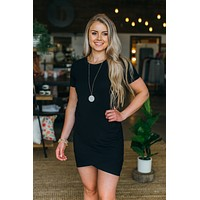 Send My Love Dress-Black