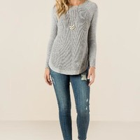 Berdette solid pullover sweater