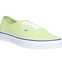 Vans Authentic(K)Shadow Lime/White