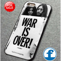 The Beatles, Yoko ono,War is Over if you for iphone, ipod, samsung galaxy, HTC and Nexus Phone Case