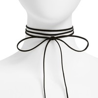 Topshop Bow Choker Necklace | Nordstrom