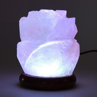 Salt Lamp Air Purifier Night Bedside Lamp Table Lamp