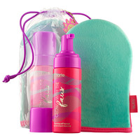 Sephora: tarte : Glow with the Faux Foaming Self-Tanner with Mitt : self-tanner-bath-body