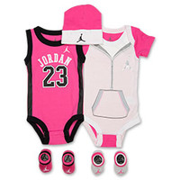 Girls' Infant Jordan Lil Jersey 5-Piece Set