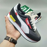 PUMA FUTURE RIDER PLAY ON Hot sale retro casual low-cut couple sports trend running shoes