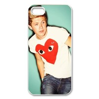 Music & Singer Series Protective Hard Case Cover for iPhone 5 - 1 Pack - One Direction - Niall Horan