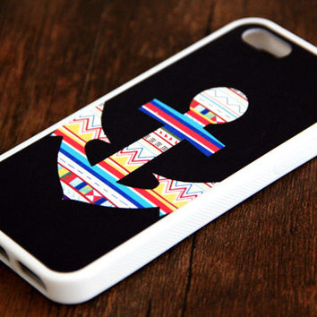 Ethnic Anchor iPhone and Samsung Galaxy Rubber Case