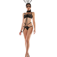 Laced Bunny costume