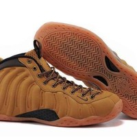 ONETOW Jacklish Nike Air Foamposite One Wheat Haystack/track Brown