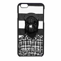 Funny Pug Life 2 iPhone 6SS Case