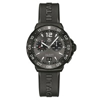 Men's TAG Heuer FORMULA 1 Grande Date Alarm Rubber Strap Watch