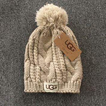 UGG: fashion men's and women's knitted cap