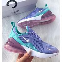 NIKE AIR MAX 270 Breathable running shoes-13