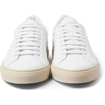 Givenchy - Leather Low-Top Sneakers | MR PORTER