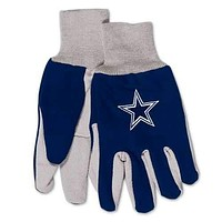 Dallas Cowboys Two Tone Adult Size Gloves