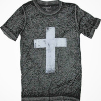 Cross T-Shirt (Black Acid)