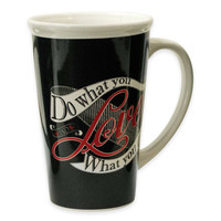 """Do What You Love"" 22 oz. Chalkboard Mug"