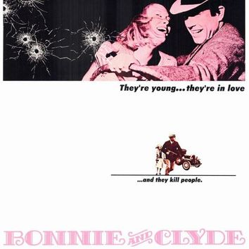 Bonnie and Clyde 11x17 Movie Poster (1967)