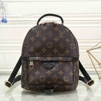 LV Fashion Laptop Bag Shoulder School Bag Backpack