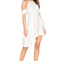 C/MEO Have It All Dress in Ivory | REVOLVE