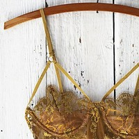 For Love & Lemons Womens Honeysuckle Bondage Underwire