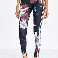 Adidas Originals Fashion Flowers Print Gym Yoga Running Leggings Sweatpants
