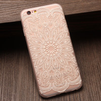 Lace Floral 7 7 Plus & iPhone 6 6s Plus & iPhone 5s se Case Personal Tailor Cover + Gift Box-475