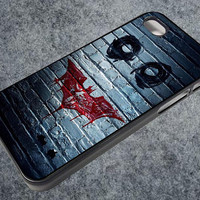 batman-joker iPhone case, iPhone 4/4S case, iPhone 5, 5S, 5c case, Samsung S3, S4 case, Hard Plastic, Rubber