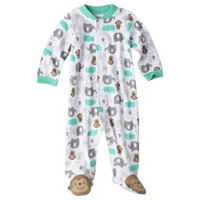 Just One You™Made by Carter's® Newborn Animal Friends Sleep N' Play - White/Teal