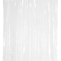 "Heavy Duty Vinyl Shower Curtain with Metal Grommets - 70"" x 72"" (Super Clear)"