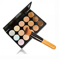 Concealer & Multi-Function Oblique Head Powder Brush ZH202