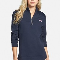 Women's Vineyard Vines 'Shep' Half Zip French Terry Pullover