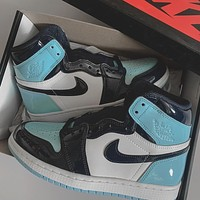 Nike Air Jordan 1 UNC Sneakers Shoes