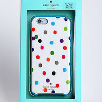 """Kate Spade Hybrid Hard Shell Slim Case Cover for iPhone 6 6S 4.7"""" Dots - NEW"""
