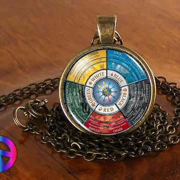 Magic the Gathering MtG Cards Card Wheel Necklace Jewelry Pendant Men Women Gift