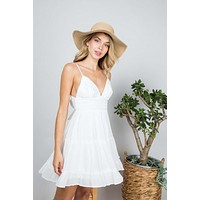 Reagan Dress (Off White)