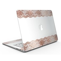 Rose Gold Lace Pattern 8 - MacBook Air Skin Kit