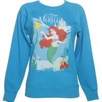 Women's Little Mermaid Disney Sweater