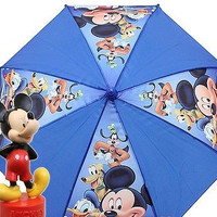 Disney Mickey Mouse Blue kid's original licensed Umbrella! New with tags!v1