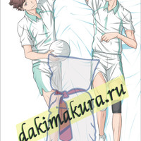 Anime Haikyuu!! Tooru Oikawa  Dakimakura 50x150cm, 19.6x59 inch, Hugging Body Pillow Case N489