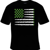 Marijuana Flag of Joints T-Shirt Men's
