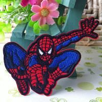 Spider Man iron on patch E0251 by happysupply on Etsy