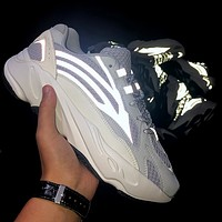 Bunchsun Adidas Yeezy 700 Runner Boost Trending Retro Running Sport Shoes Sneakers 3#