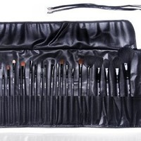 Professional 32pc Makeup Artist Cosmetics Make Up Brushes Set & Case By VAGA